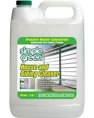 Simple Green House Siding Cleaner Pressure Washer Concentrate