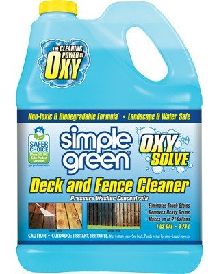 Simple Green® Oxy Solve Deck and Fence Cleaner