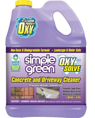 Simple Green® Oxy Solve Concrete and Driveway Cleaner
