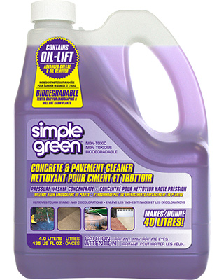 Simple Green® Concrete and Pavement Cleaner