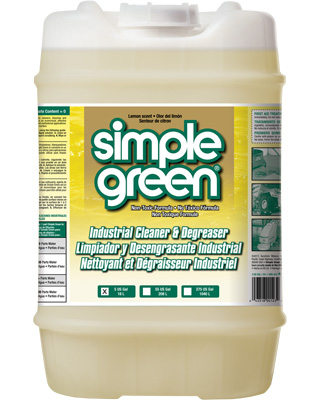 Simple Green® Industrial Cleaner and Degreaser - Lemon Scent