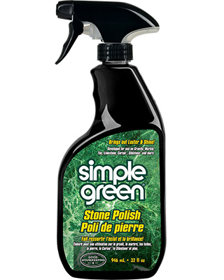 Produit de polissage de surfaces pierreuses de Simple Green®