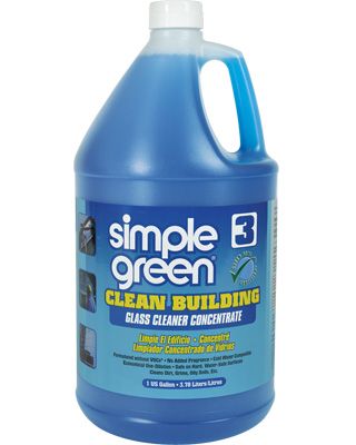 Simple Green Clean Building® Glass Cleaner Concentrate