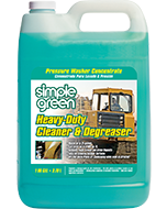 Simple Green® Heavy-Duty Cleaner - Pressure Washer Concentrate