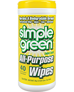 Simple Green® All-Purpose Wipes - Lemon Scent