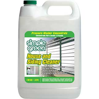 Simple Green Pressure Washer House Siding Cleaner