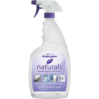 Bathroom Cleaner simple green naturals bathroom cleaner